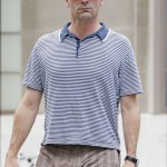"Jon Hamm trades his ""Mad Men"" suit for shorts as he runs errands in New York CIty"