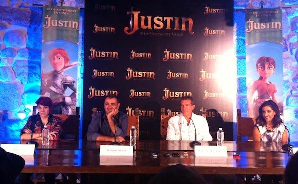 Justin rueda de prensa fuertecito
