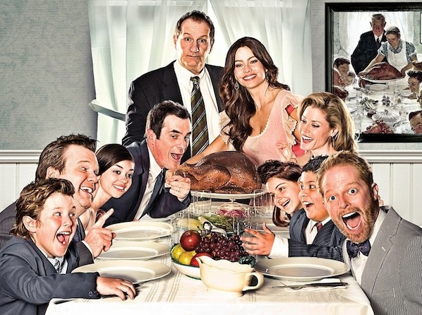 Modern Family Norman Rockwell