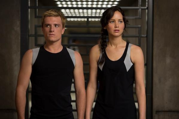 Los juegos del hambre Peeta Katniss