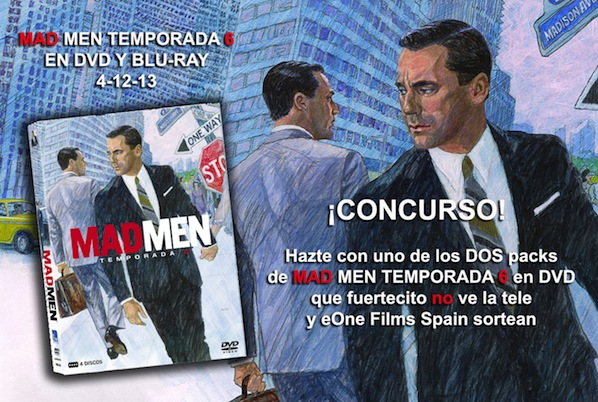 Mad Men concurso fuertecito blog