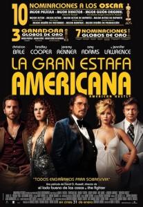 La gran estafa americana American Hustle cartel español