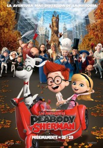 Peabody y Sherman_Poster Oficial