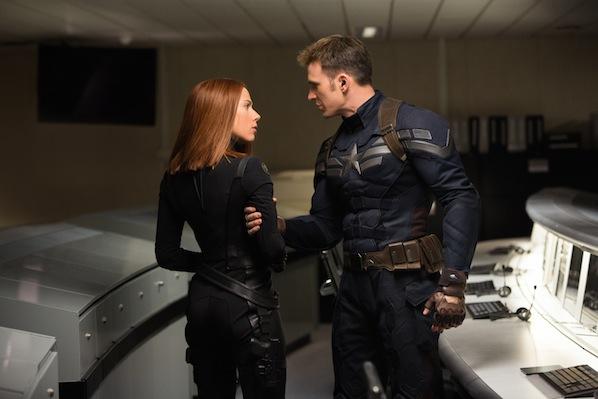 Viuda Negra Capitán América