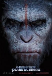 El Amanecer del Planeta de los Simios_Poster Teaser
