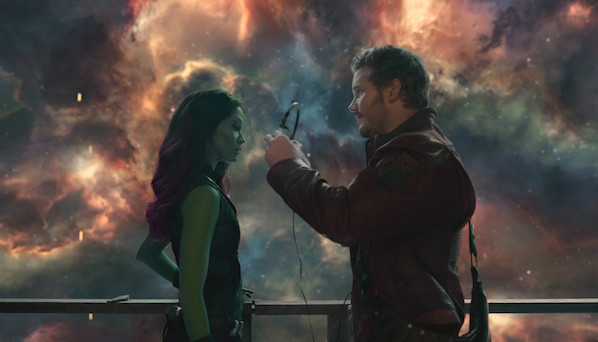Gamora y Star-Lord