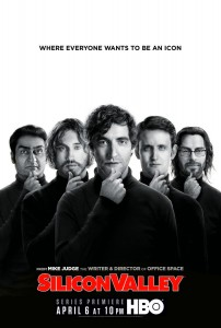 silicon valley póster HBO