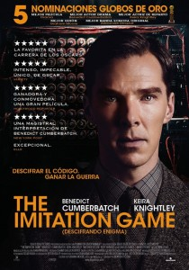 The Imitation Game póster español