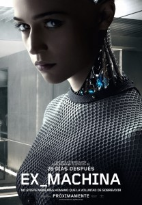 Ex machina póster