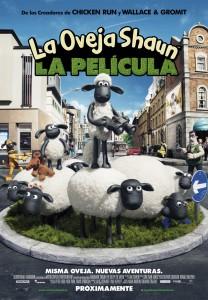 La oveja Shaun poster