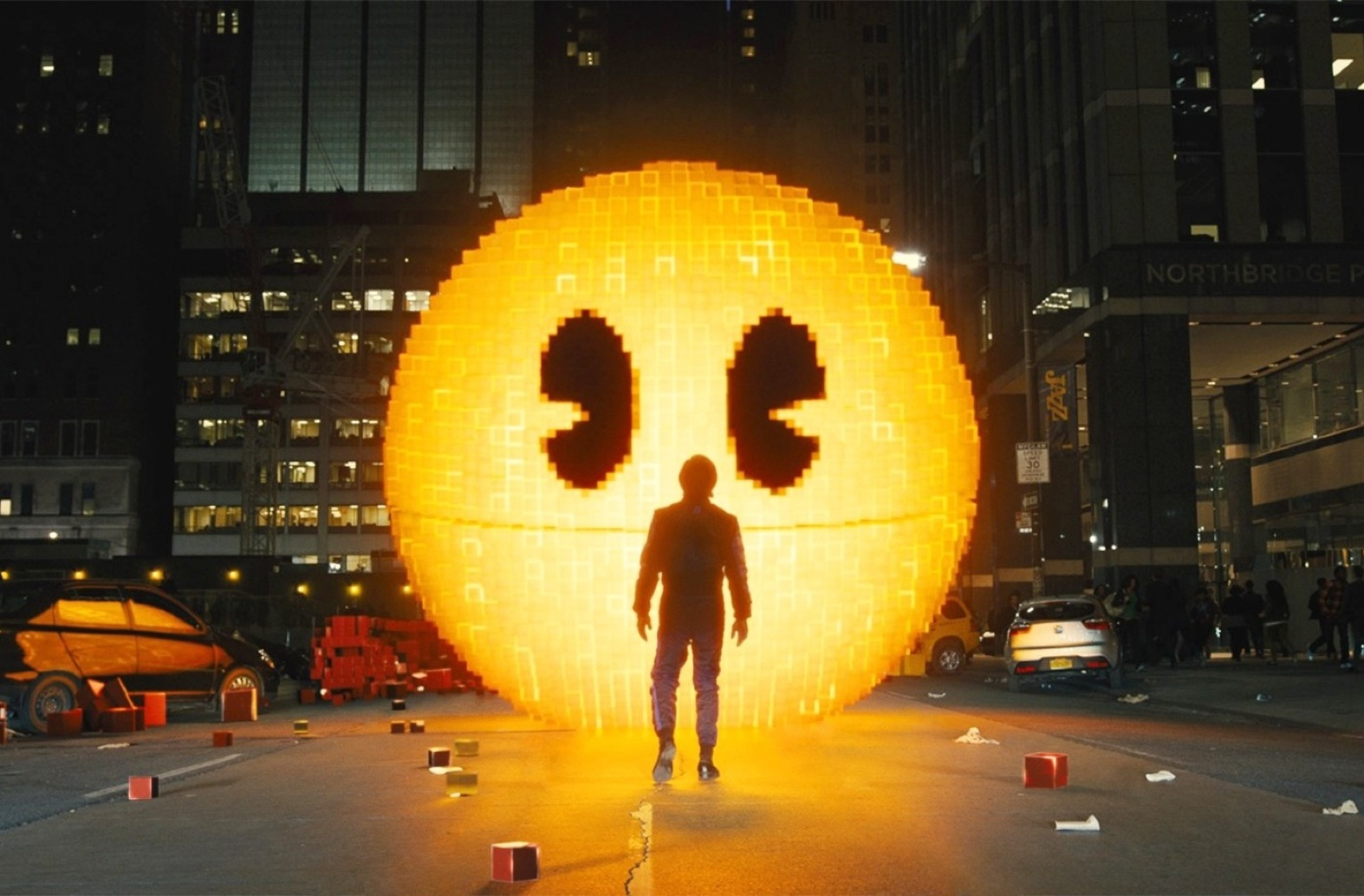 Pac-Man in Columbia Pictures' PIXELS.