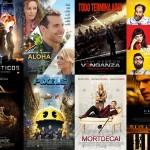 Las 20 peores películas de 2015 (según fuertecito)