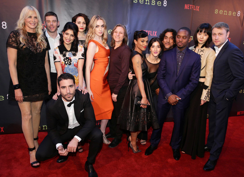 Daryl Hannah, Brian J. Smith, Miguel Angel Silvestre, Tina Desai, Tuppence Middleton, Jamie Clayton, Cindy Holland, Freema Agyeman, Erendira Ibarra, Naveen Andrews, Aml Ameen, Doona Bae, Max Riemelt