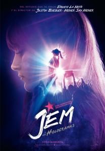Jem y los Hologramas cartel