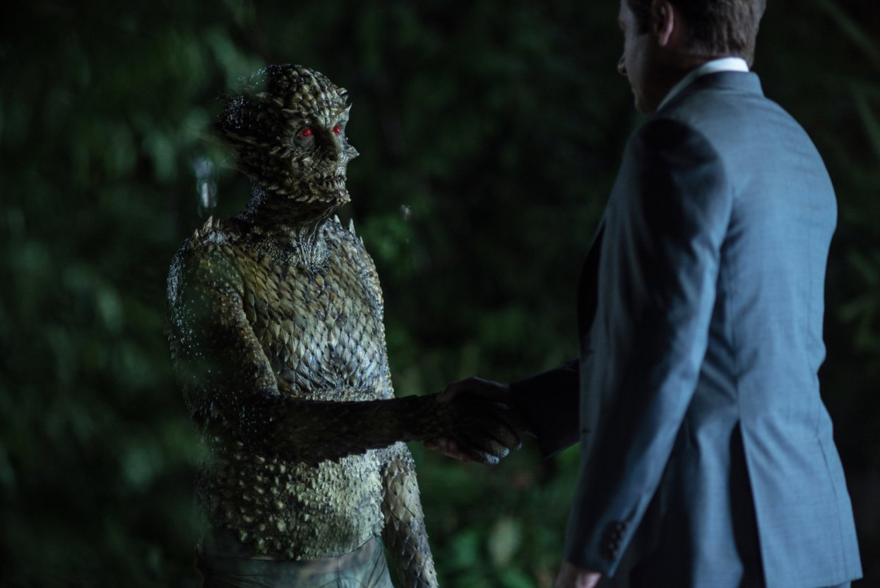 Mulder meets the weremonster