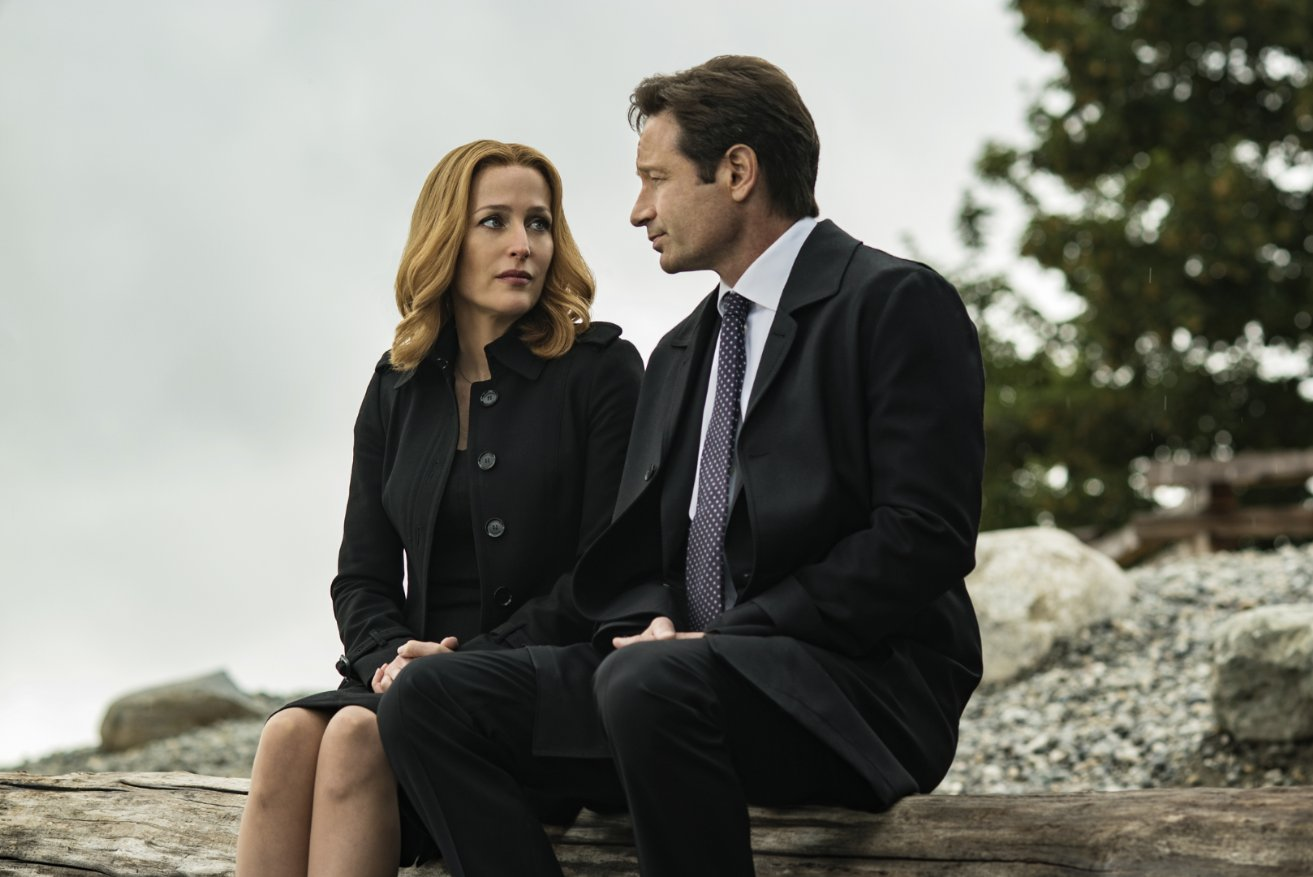 Mulder y Scully Home Again